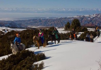 Backcountry ski Karakol - Kyzyl Suu<br>